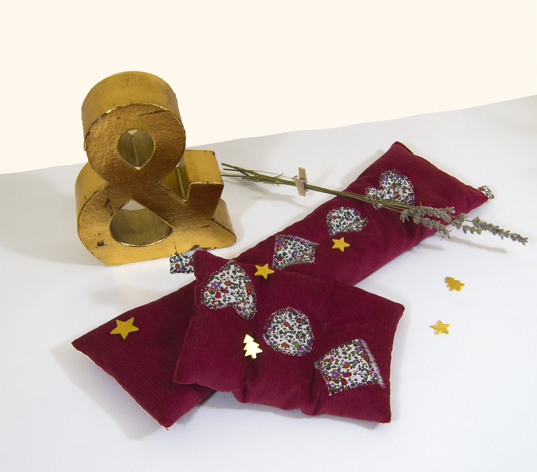 Saquito granate & Estrellas